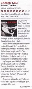 James Leg Classic Rock Blues review