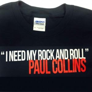 PaulCollins_T-Shirt_Rock&RollW