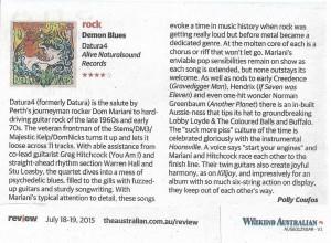 Datura4_Weekend Australian review