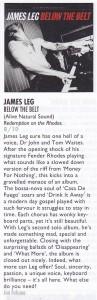 James Leg Vive Le Rock review