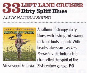 Left Lane Cruiser Classic Rock Blues albums of the year