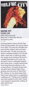 Sulfur City Vive Le Rock review