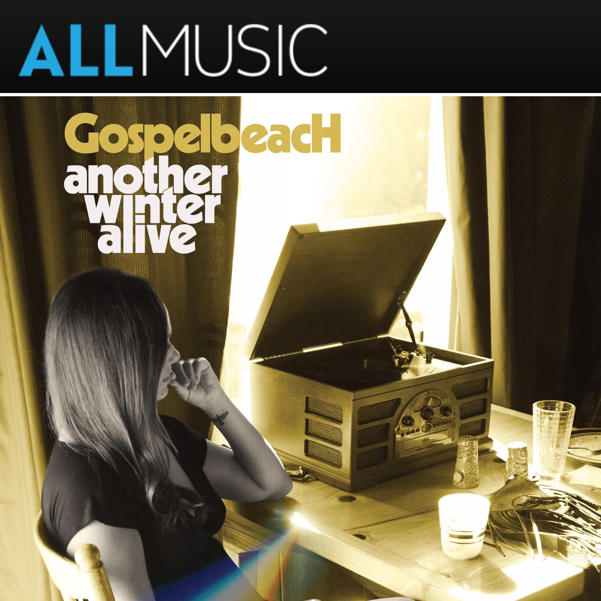 "GOSPELBEACH announce new album ""Another Winter Alive"" via ALL MUSIC"