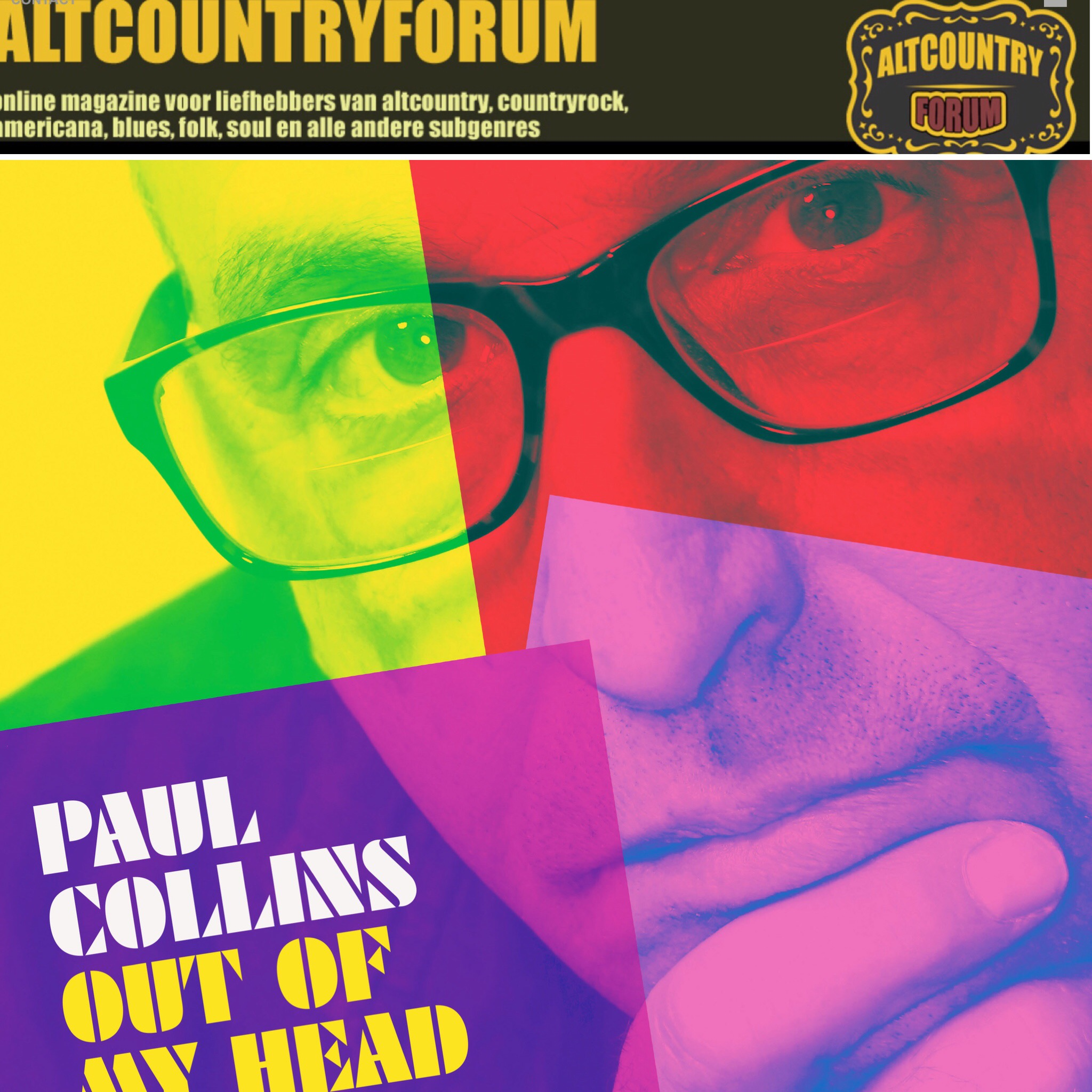 Paul Collins | Alive Naturalsound Records